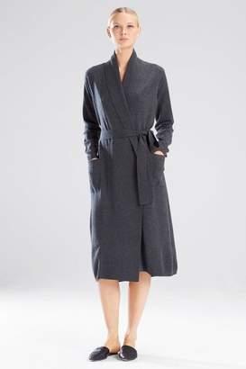 Josie Natori Silk/Cashmere Robe