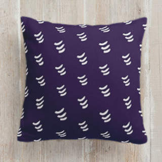 Playful Chevron Square Pillow