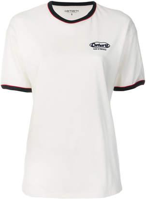 Carhartt logo ringer T-shirt