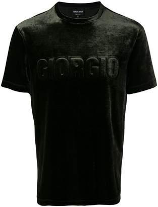 Giorgio Armani logo short-sleeve T-shirt