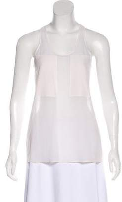 Alexander Wang Silk Sleeveless Top