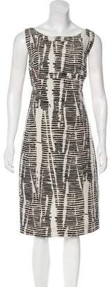 Max Mara 'S Printed Sleeveless Midi Dress
