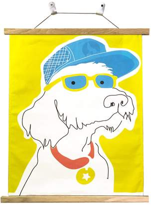 Cherie Did This - Doggy Dude Cloth Art & Hanger