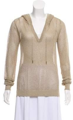 MICHAEL Michael Kors Hooded Long Sleeve Sweater