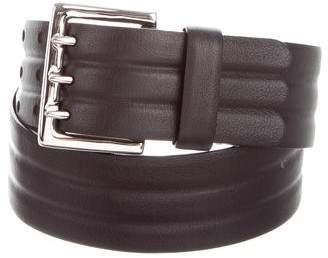 Maison Margiela Leather Buckle Belt w/ Tags