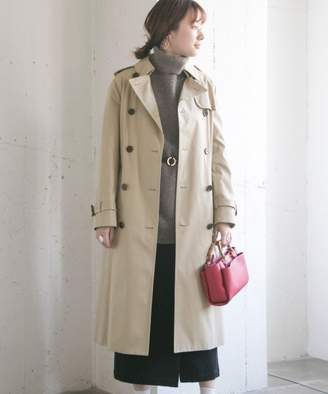 URBAN RESEARCH (アーバン リサーチ) - アーバンリサーチ YLEVE SUPIMA COTTON TRENCH COAT