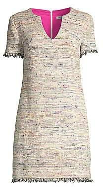 Trina Turk Women's Tweed Sheath New York Dress - Size 0
