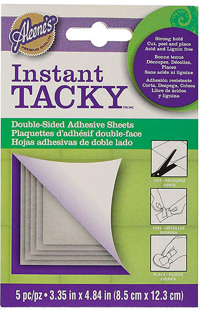 Aleene's Instant Tacky Double-Sided Adhesive Sheets
