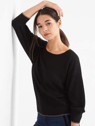Gap Boatneck three-quarter sleeve pullover