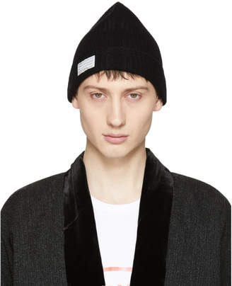 Visvim Black Wool Beanie