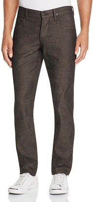 Hudson Blake Slim Straight Fit Jeans in Zealous $209 thestylecure.com