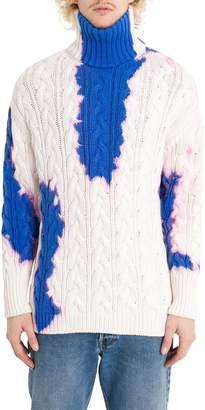 Balenciaga Bleach Turtleneck Sweater