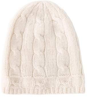 Ralph Lauren Black Label Cashmere Cable-Knit Beanie