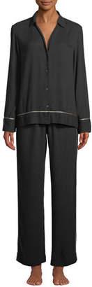 Josie Natori Harlow Classic Woolen Pajama Set