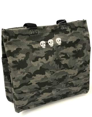 Quilted Koala Luxe North-South Camo Tote