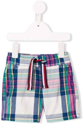 Tommy Hilfiger Junior checked shorts