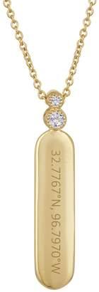 story. My Dallas Coordinate The Bae Diamond Necklace