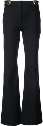 Derek Lam 10 Crosby Flare Trouser With Grommet Detail