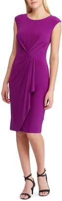 Lauren Ralph Lauren Ruched Sheath Dress