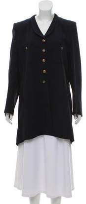 Sonia Rykiel Knee-Length Button-Up Coat