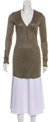 Marissa Webb Metallic Knit Tunic