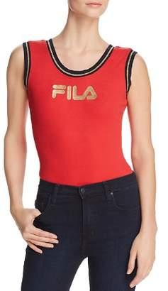 Fila Jessa Rib-Knit Bodysuit