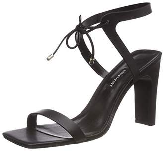 Nine West LONGITANO, Women's Ankle-Strap, Black (Black), (8 US)