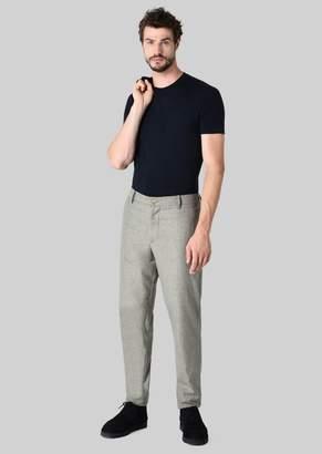 Giorgio Armani Stretch Viscose T-Shirt
