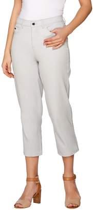 Halston H By H by Studio Stretch Five Pocket Crop Pants