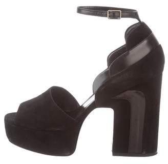 e0a99a4e5 Pierre Hardy Platform Heel Women s Sandals - ShopStyle
