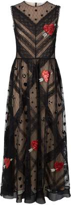 RED Valentino Lace Sequin-Embellished Gown