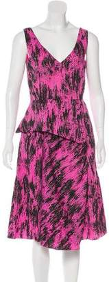 Max Mara Weekend Printed Midi Dress w/ Tags