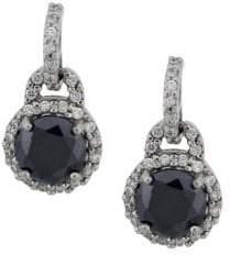 Lord & Taylor Crystal Drop Earrings