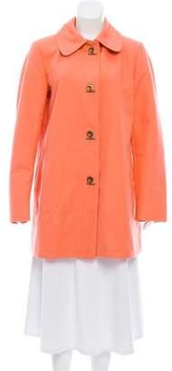Burberry Collared Short Coat