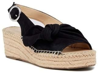 Franco Sarto Pixie Suede Slingback Wedge Sandal