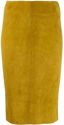 Drome high-rise pencil skirt