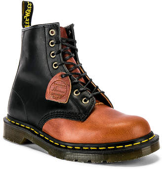 Dr. Martens Made in England 1460 Dublin Boots in Black & Mocha | FWRD