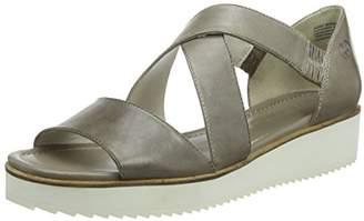 Gerry Weber Women G15503 90 Wedge Heel Sandals Beige Size: 5 UK