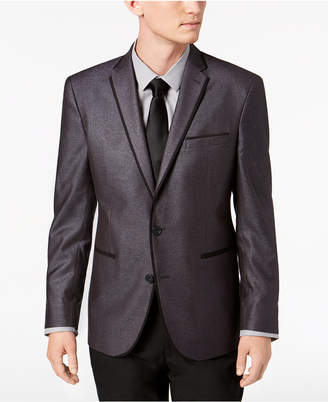 Kenneth Cole Reaction Men's Slim-Fit Silver Shimmer Dinner Jacket, Online Only