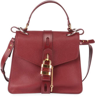 Chloé Aby Medium Padlock Top Handle Bag