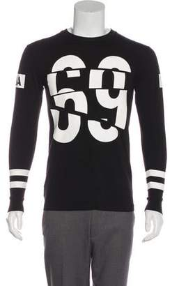 Hood by Air Long Sleeve Crew Neck T-Shirt