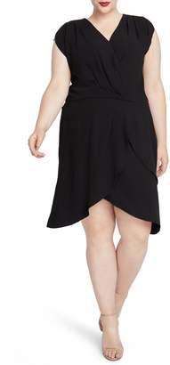 Rachel Roy Pierce Faux Wrap Dress