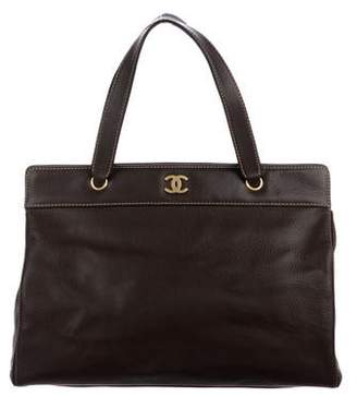 Chanel Caviar CC Tote w/ Shoulder Strap