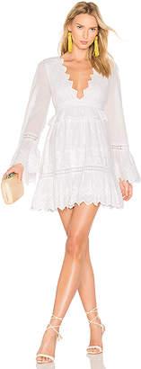 MAJORELLE Western Ridge Dress in White $248 thestylecure.com