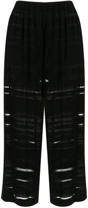 A.N.A À La Garçonne Ruga cropped trousers