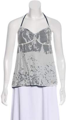 CNC Costume National Distressed Sleeveless Top