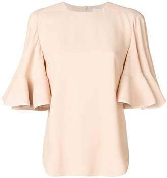 Chloé trumpet sleeve blouse