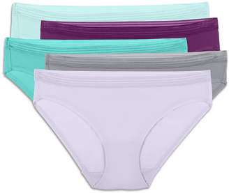 Fruit of the Loom 5-Pack Womens Everlight Bikini Panties - 5DEB50F