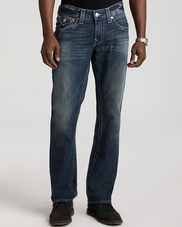 True Religion - Ricky Straight Fit in Surfer Dark