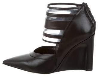 Derek Lam Meryl Leather Wedge Booties $275 thestylecure.com